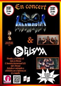 cartel Indomables+Elisma